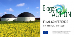 BiogasAction project final event – Unlocking the potential of biogas